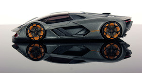 Lamborghini Terzo Millennio - The futuristic super electric car by Lambo...