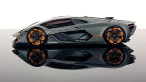 Lamborghini Terzo Millennio - The futuristic super electric car by Lambo...