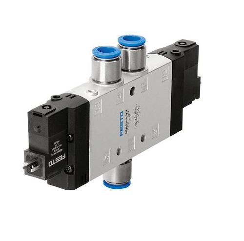 it is a two way solenoid manufactured by festo.