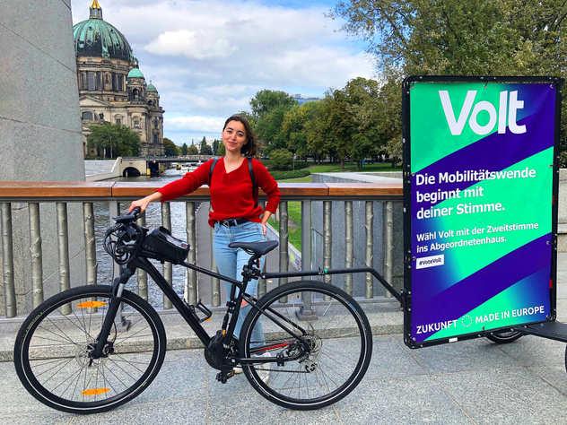 Volt Berlin Bikewerbung