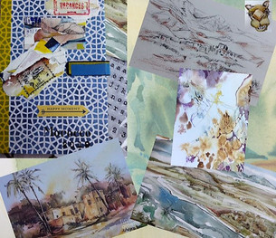 Sketch Book Collage
