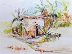 By the Stream Sketch