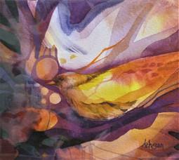 Oiseau caché