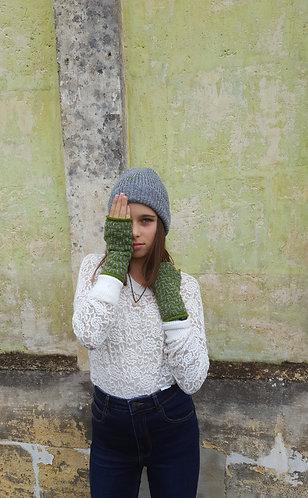 Bonnet mousseux en laine