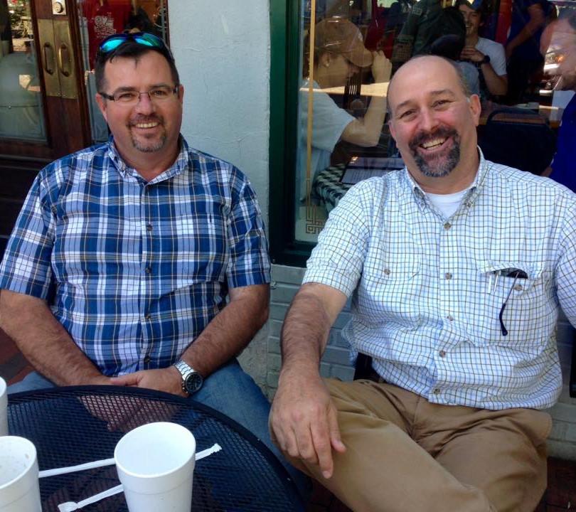 Coffee with City Council Sam Norton Apri