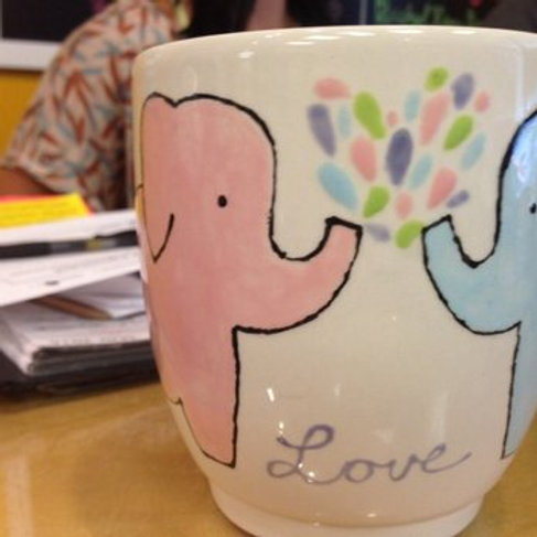 Thurs. 4/30 LADIES NIGHT Pottery Special