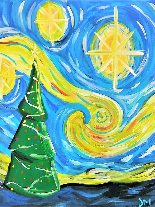 Friday December 13 Starry Christmas