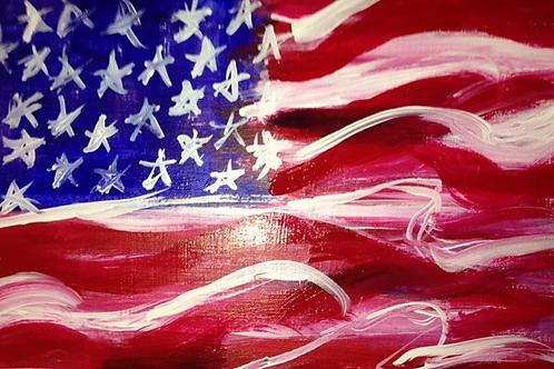 Thursday June 14 Flag Day Paint Night