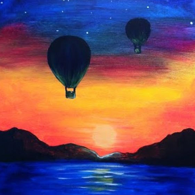 Hot Air Balloons at Night.png