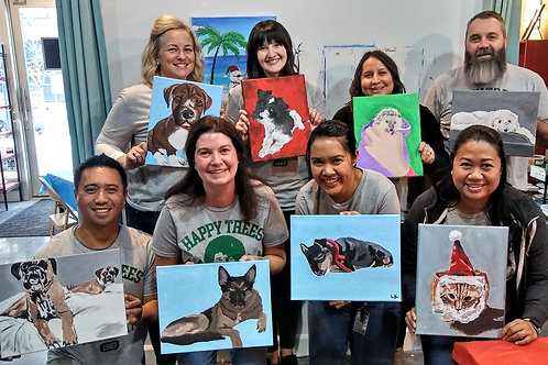 Saturday Dec 29 PAINT YOUR PET FUNDRAISER