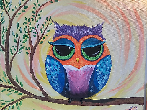 Friday July 27 PAINTED OWL