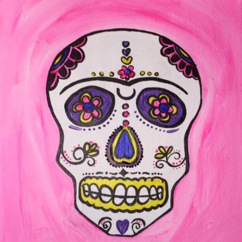 """Sat 10/24 """"Sugar Skull"""" PaintingNightOut!  6:30- 8"""