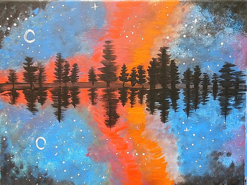 Thursday October 4 Celestial Reflection