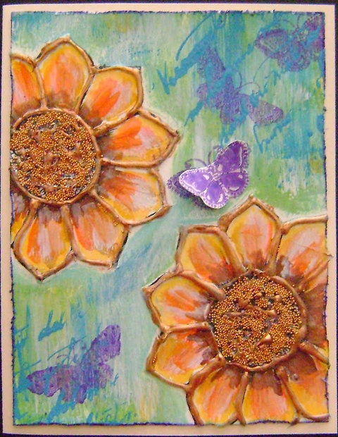 Kids Cl Wednesday April 3 4 30 Hot Glue Paintings