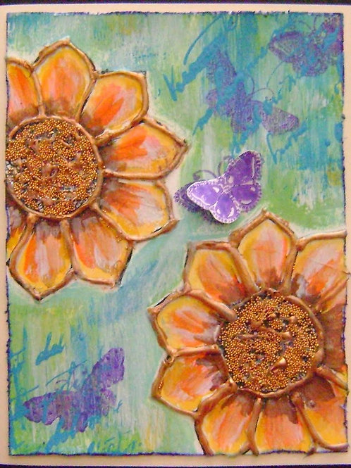 KIDS CLASS Wednesday, April 3 4:30- Hot Glue Paintings