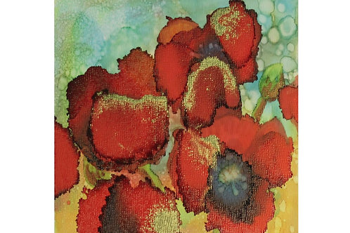 Thurs. June 25th 7:00 Abstract Alcohol Ink