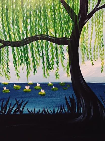 Thursday, April 25 6:30- Peaceful Willow