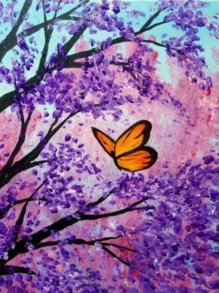 Butterfly Blossoms- Saturday, March 16 6:30
