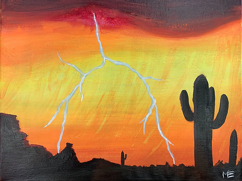 Saturday Nov 2 Desert Lightning