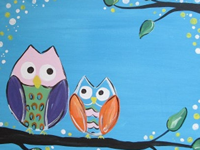Mon 2/22 Family Painting Night Out! 6:30pm