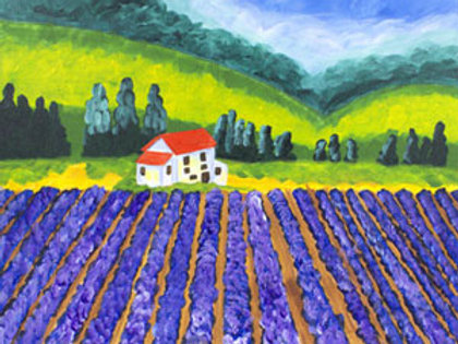 "Thurs 6/15 ""Lavender Fields"""