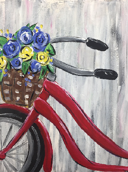 Saturday August 10 Bike Bouquet
