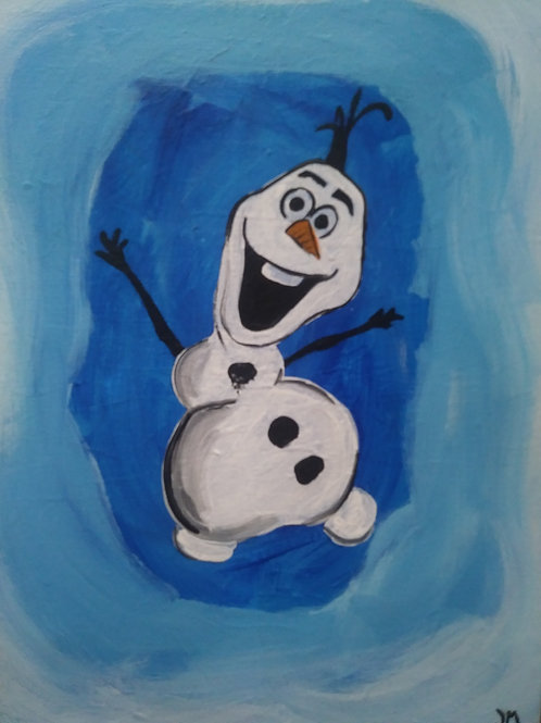 Olaf Kids Paint