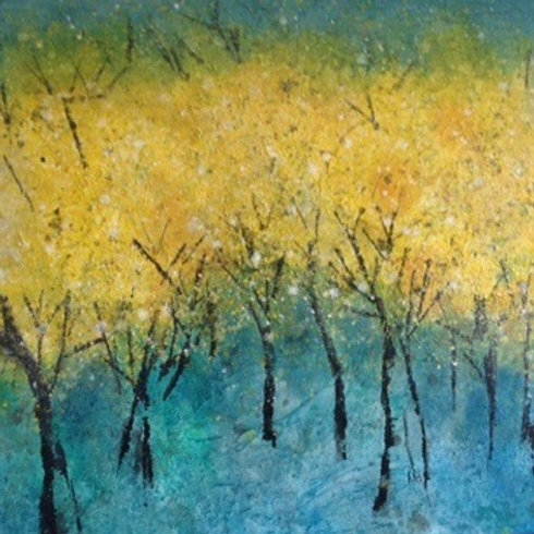 "Thurs 8/17 ""Golden Trees"" Paint Night SPECIAL"