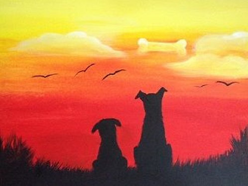 Weds 8/16 Family Paint Night- Special!