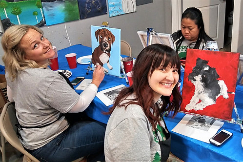 Friday August 9 Paint Your Pet