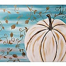 Thursday November 21 White Pumpkin