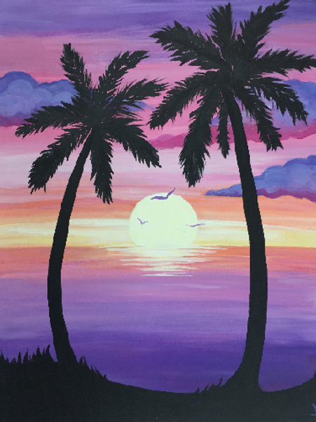 **Only 4 seats left**Palm Sunset- Saturday, March 30 6:30