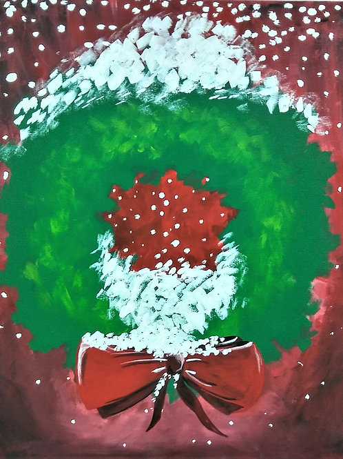 Friday December 7 CHRISTMAS WREATH