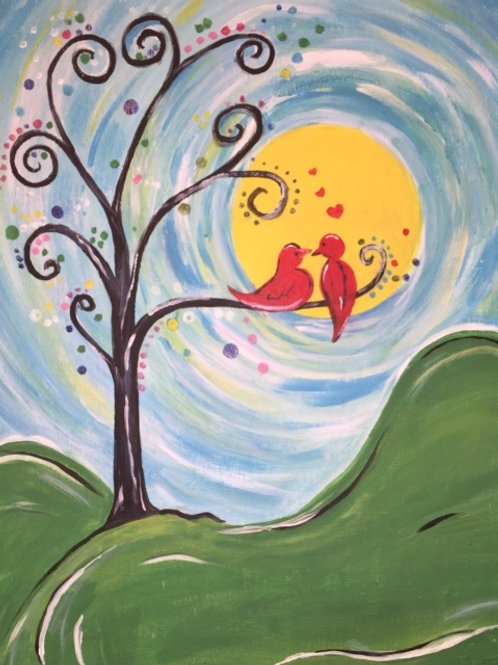 Sat 4/16 Painting Night Out 6:30
