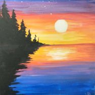 Wooded Lake Sunset 2.png