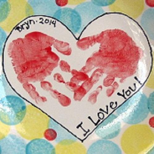 Sat 4/9 Hand or Footprint Impression