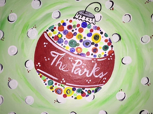Weds 11/25 Family Paint 6:30