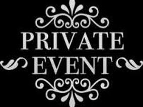 Sat 6/10 MANWILL Private Event