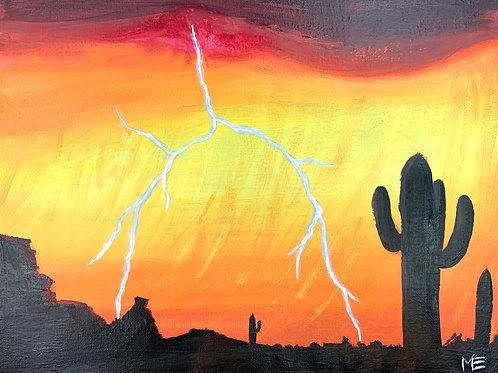 Friday January 24 DESERT LIGHTNING