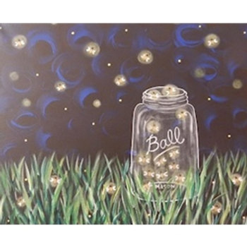 "Fri 7/7 PAINT NIGHT ""Catchin Fire Flies"""