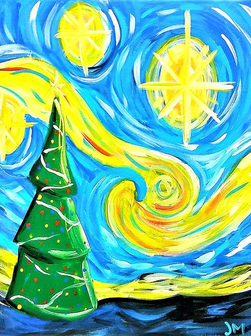 Saturday December 14 Starry Christmas