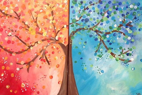 SOLD OUT Mon. 6/29 DATE NIGHT Dine, Wine & Paint