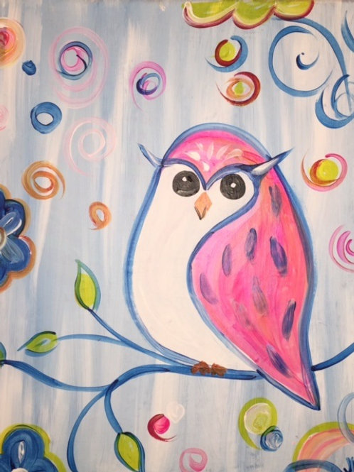 Fri 9/30 Kid & Teen Paint Night Out!