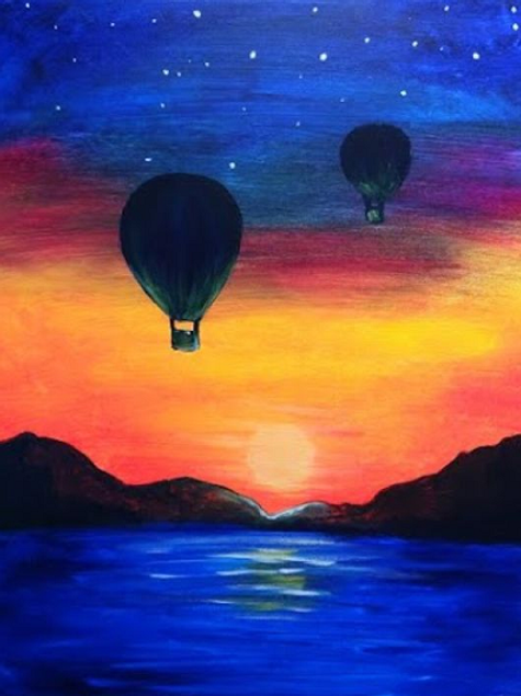 **SOLD OUT**Friday, March 1 6:30- Hot Air Balloons at Night