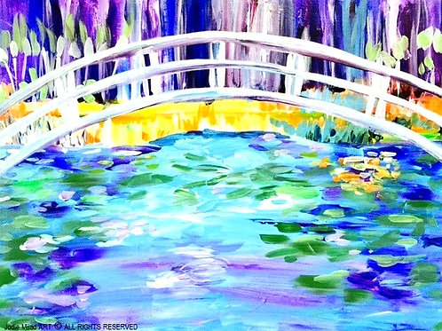 "6:30 Friday, May 14 ""Japanese Bridge"" Paint Night"