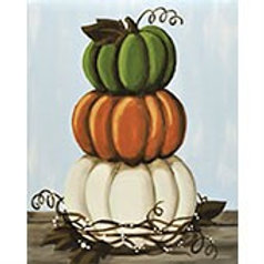 Thursday November 1 STACKED PUMPKINS