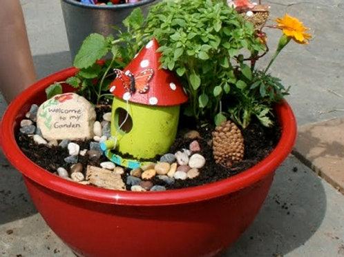 Fri's 8/7 & 8/14 Fairy/Gnome Garden  1:30-3:00