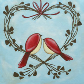 SOLD OUT Wed 2/14 Valentines Day Paint Night Out