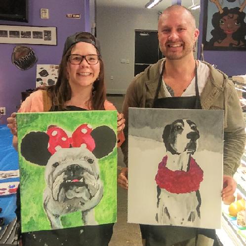 Saturday August 4 Paint Your Pet