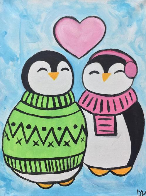 KIDS CLASS- Thursday Feb 7 Cozy Penguins
